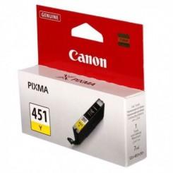 Cartouche d'encre Jaune Canon CLI451J