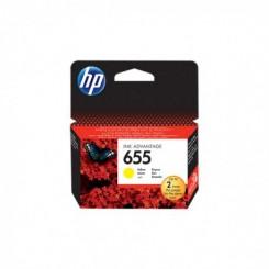 Cartouche d'encre HP 655 - Jaune (CZ112AE)