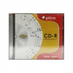 CD-R Optico 52 X 700MB avec pochette imprimable
