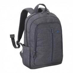 """Sac à dos En toile pour PC portables 15.6"""" - RIVACASE 7560 - gris"""