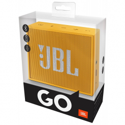 Enceinte bluetooth portable JBL GO - Jaune