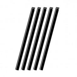 Baguettes à relier A4 paquet de 50 - 16mm - Noir