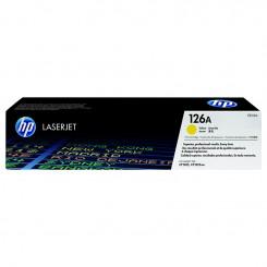 Toner laser HP 126A Jaune