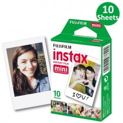 Papier photo mini FUJIFILM Instax Paquet de 10F