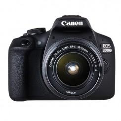 Reflex Canon EOS 2000D + Objectif 18-55mm IS