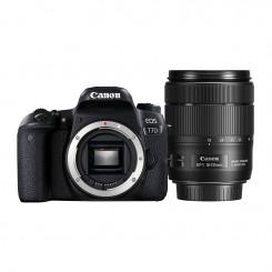 Appareil photo Reflex Canon EOS 77D + objectif 18-135mm IS USM