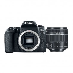 Appareil photo Reflex Canon EOS 77D + objectif 18-55mm IS STM