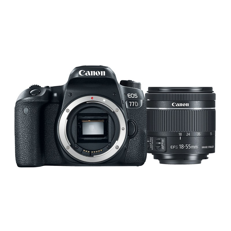 aaa40323bed77e Vente Appareil photo Reflex Canon EOS 77D + objectif 18-55mm IS STM ...