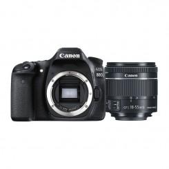 Appareil photo Reflex Canon EOS 80D + objectif 18-55mm IS STM