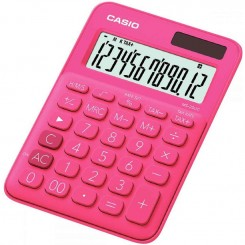Calculatrice de bureau Casio - MS-20UC - Rose