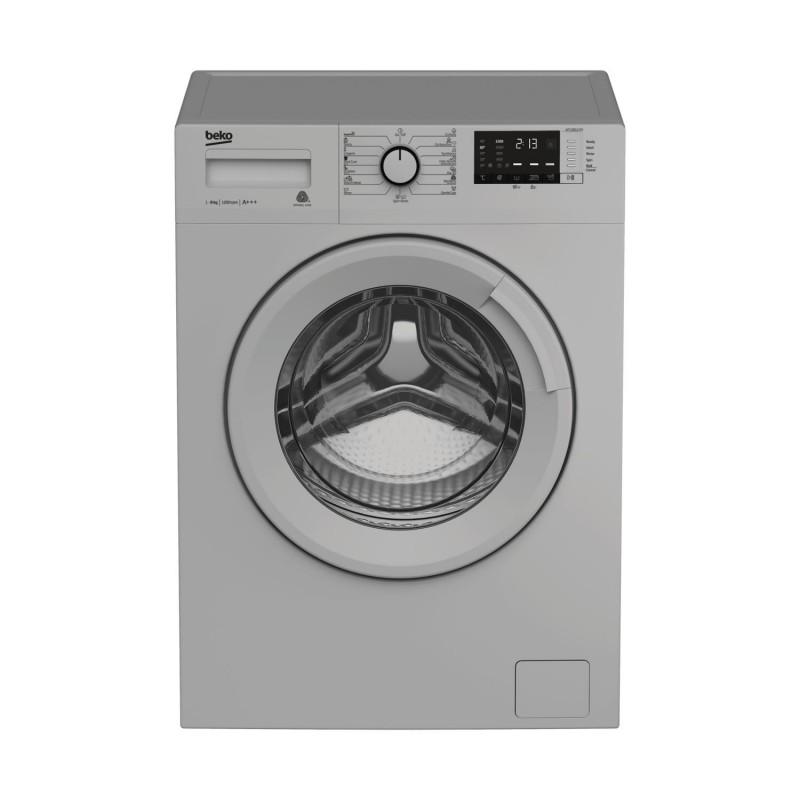 Machine à laver Frontale BEKO - 8 Kg - WTV 8612XSS - Silver + FER A VAPEUR MOULINEX Offet