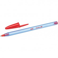 Stylo BIC Cristal Soft 1.2mm / Rouge