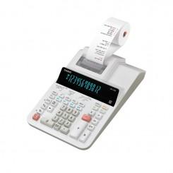 Calculatrice Casio 12 Chiffres DR-120R-WE - Blanc