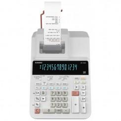 Calculatrice Casio 14 Chiffres DR-140R-WE - Blanc