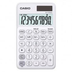 Calculatrice de bureau Casio - SL-310-UC - Blanc