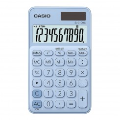 Calculatrice de bureau Casio - SL-310-UC - Bleu clair