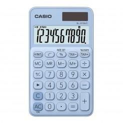 Calculatrice de bureau Casio - SL-310-UC - Bleu clair