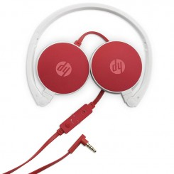 Micro Casque HP - H2800 - Rouge