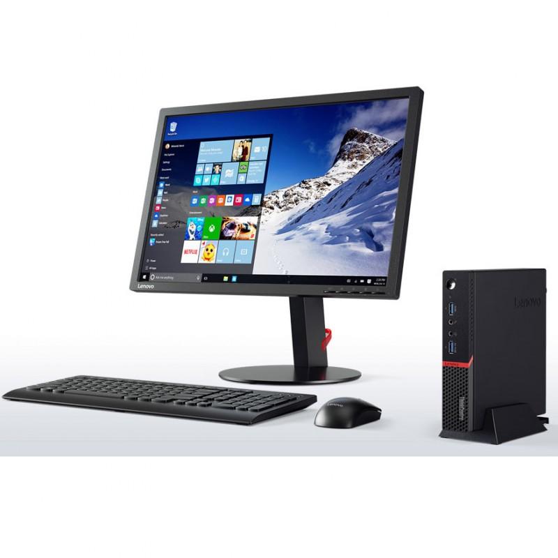 PC de Bureau Lenovo Thinkpad M710Q - i3 7é Gèn - 8Go DDR4 - 128GoSSD