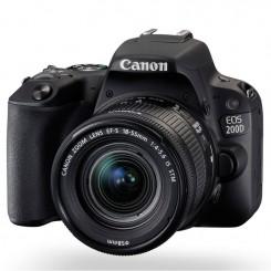 Reflex Canon EOS 200D + EF 18-55mm IS STM Noir