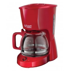 Cafetière Textures Rouge Russell hobbs 22611-56