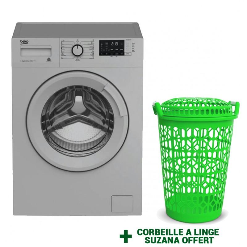 Machine à laver 8 Kg (WTV8612XSS) BEKO - Silver