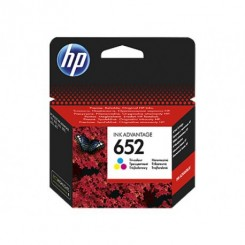 Cartouche d'encre HP 652 Couleur (F6V24AE)