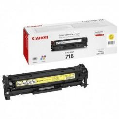 Toner Laser Canon 718 - Jaune