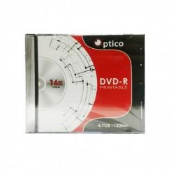 DVD-R 4.7 GB 16X IMPRIMABLE avec pochette - OPTICO