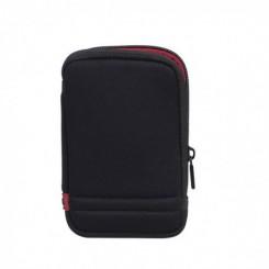 """Etui Rivacase 5101 pour disque dur 2,5"""" externe portable AntiShock - Noir"""