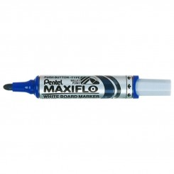 MARKEUR TAB BLANC MAXIFLO BLEU