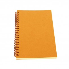 CAHIER ORANGE WAVE 16.5*24.1 5/5