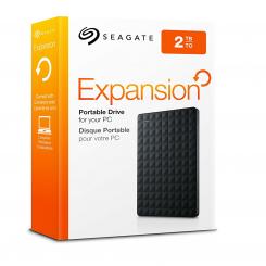 "Disque dur Portable Expansion SEAGATE - 2To - USB 3.0 2.5"" - Noir (STEA2000400)"