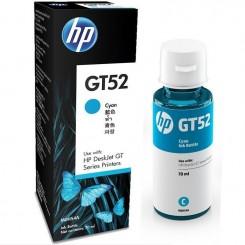 Bouteille d'encre Originale HP GT52 - Cyan - 70ml