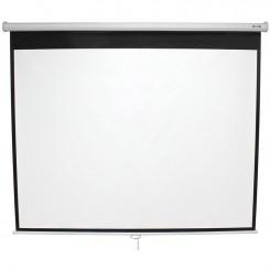 Ecran de projection électrique avec télécommande 203x203cm