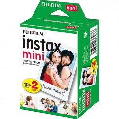 Papier photo mini FUJIFILM Instax Paquet de 20F