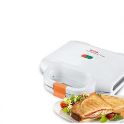 Sandwich maker - SM1570 - Tefal - 700W / Blanc