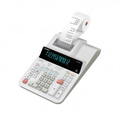 Calculatrice Casio 12 Chiffres DR-120R-WE - Blanc
