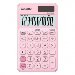 Calculatrice de bureau Casio - SL-310-UC - Rose clair