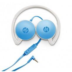 Micro Casque HP - H2800 - Bleu
