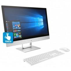 PC de Bureau HP AIO 24-r100nk - i5 8é Gén - 8Go - 1 To HDD - Blanc