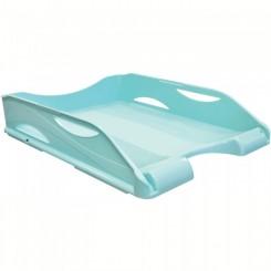 Corbeille a courrier ARDA Bleu couleur pastel 65510PASBL