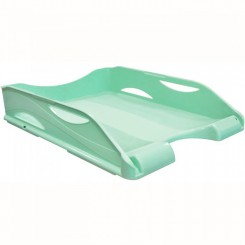 Corbeille a courrier ARDA Vert couleur pastel 65510PASV