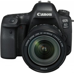 Appareil photo Reflex Canon EOS 6D Mark II + objectif 24-105mm IS STM