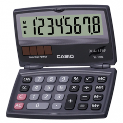 Calculatrice de poche Casio - SL-100L
