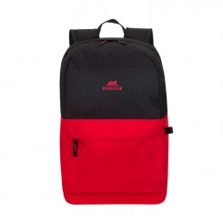 """SAC A DOS RIVACASE 5560 Pour PC portables 15.6"""" - Rouge /Noir"""