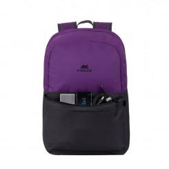 """SAC A DOS RIVACASE 5560 Pour PC portables 15.6"""" -violet /Noir"""
