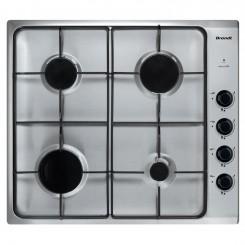 Plaque de cuisson Brandt BPE6410X 60cm - Inox