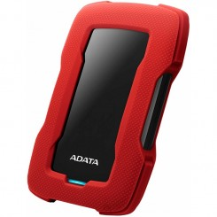Disque dur externe Adata Antichoc HD330 1To USB 3.1 - Rouge