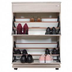 Porte chaussures Sotufab PC01CB - 18 paires - chêne brut